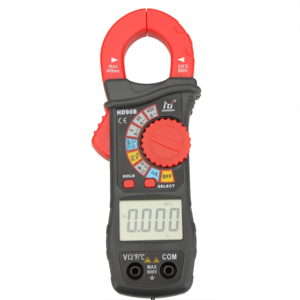 Auto Meter Clamp : Hd b digital clamp meter auto range multimeter amp