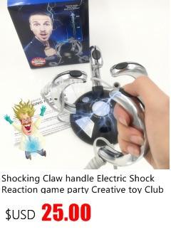Lustige Party Spiel Blitz Reaktion Elektroschock Maschine Spielzeug Prop Ohne DE