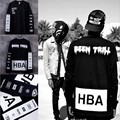 New 2016 Men's Hood By Air Long Sleeve Tee Shirts Man HBA Hip Hop t-shirts Been Trill Printed tshirts Men Camisetas Clothing