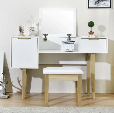Dresser. Small family dresser and desk. The bedroom clamshell economical multifunctional table puzo mario the family puzo