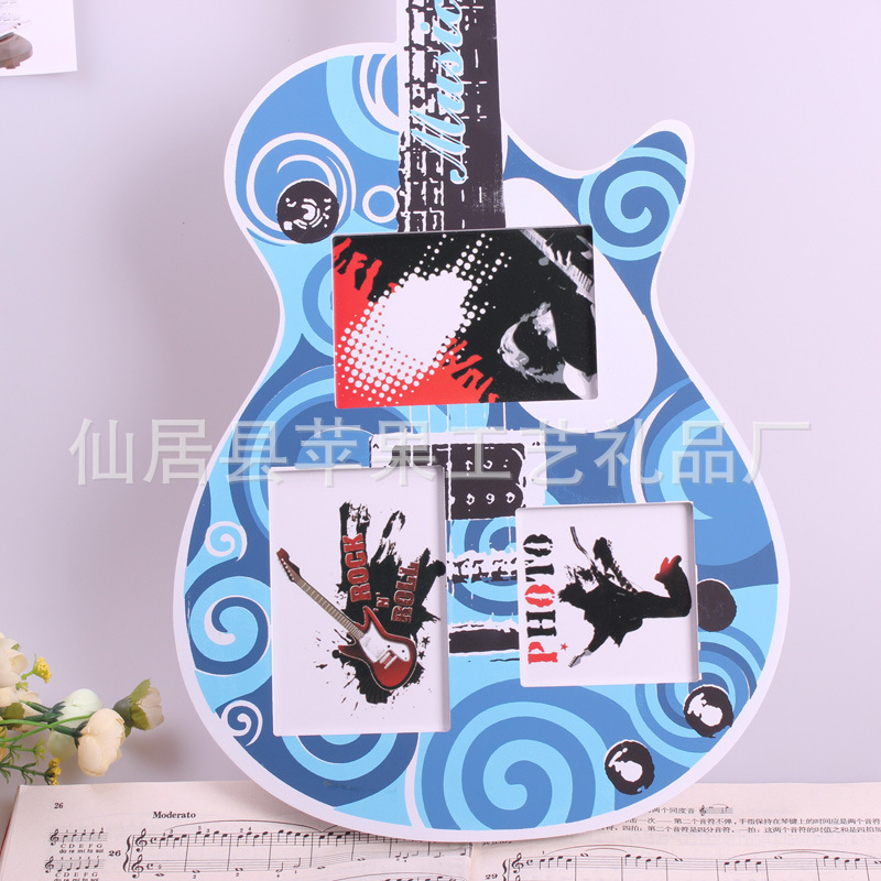 Wooden Crafts Guitar Style Frame Home Decor Ideas Decorative Wall