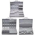 AideTek Electronics smd cajas de almacenamiento y organizadores SMD SMT resistor capacitor caja de herramientas de plástico Caja de Herramientas BOXALLCOM3