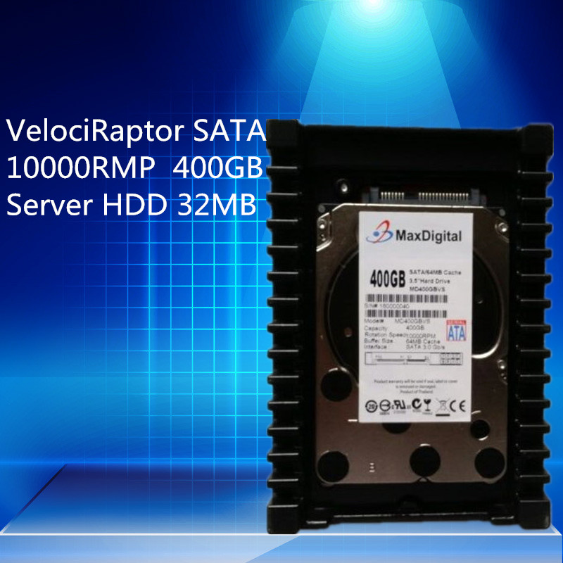 VelociRaptor 400GB 3.5inch SATA  10000RMP 32MB Server HDD Warranty for 1yera 450260 b21 445167 051 2gb ddr2 800 ecc server memory one year warranty