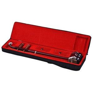 Image 5 - Erhu Solidwood Erhu סיני 2 מחרוזת כינור כינור כלי נגינה מיתר כהה קפה erhu סיני מכשיר קורדס erhu