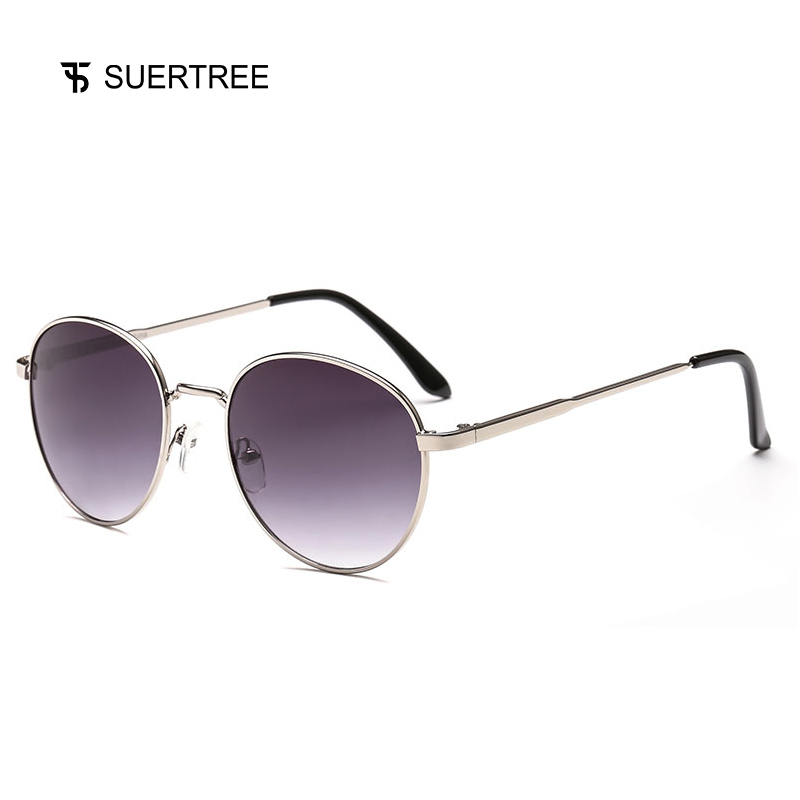 SUPERTREE 2018 New Round Metal Sunglasses Vintage Unisex Luxury Sun Glasses Retro Shades Wholesale Clearance High Quality