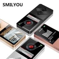 Speaker Metal Mp4 Player 4GB 8GB 16GB HIFI Lossless Sound Music Alloy Mp4 Music Player FM