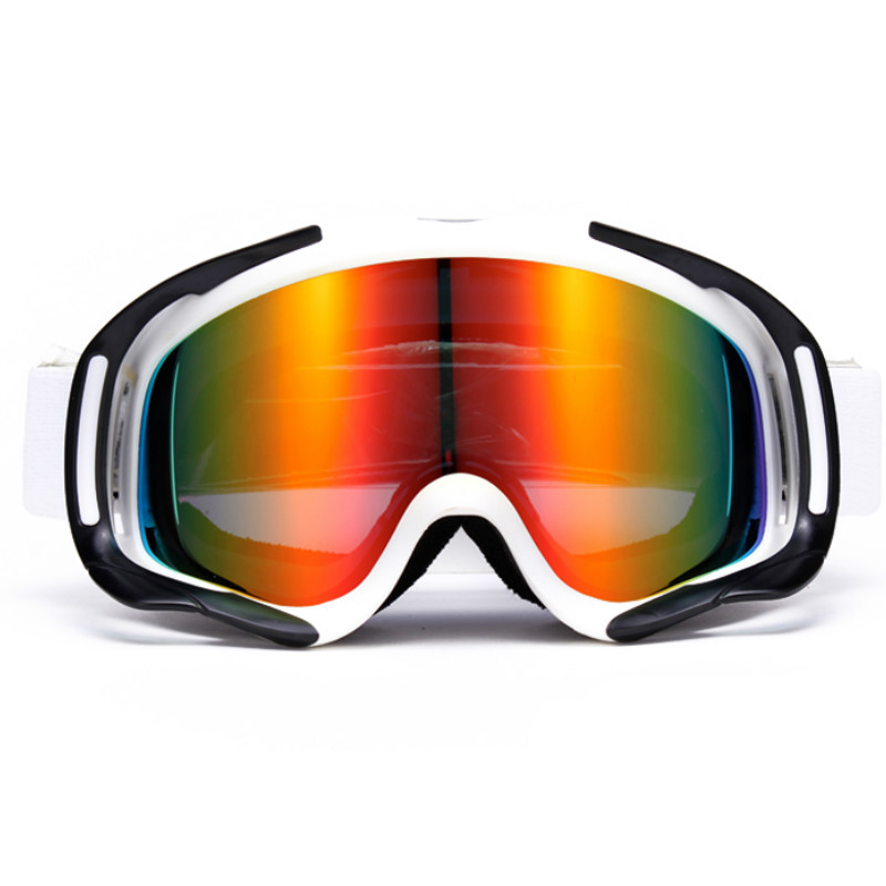 NANDN Women Skiing Glasses Double Layer Big Spherical Antimist Windproof Skiing EyewearMen Ski Goggles Myopia Adapter