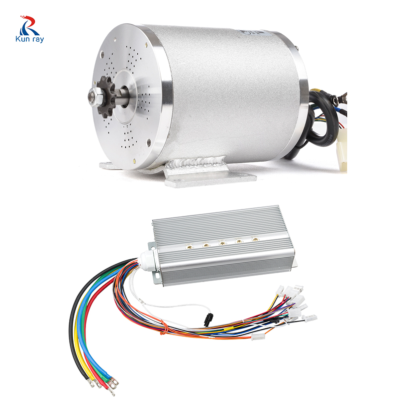 72V <font><b>3000W</b></font> 50A 80A Electric <font><b>Motor</b></font> For Motorcycle Electric Bike Conversion Kit With Battery <font><b>Motor</b></font> Bike Accessories Controller Part image