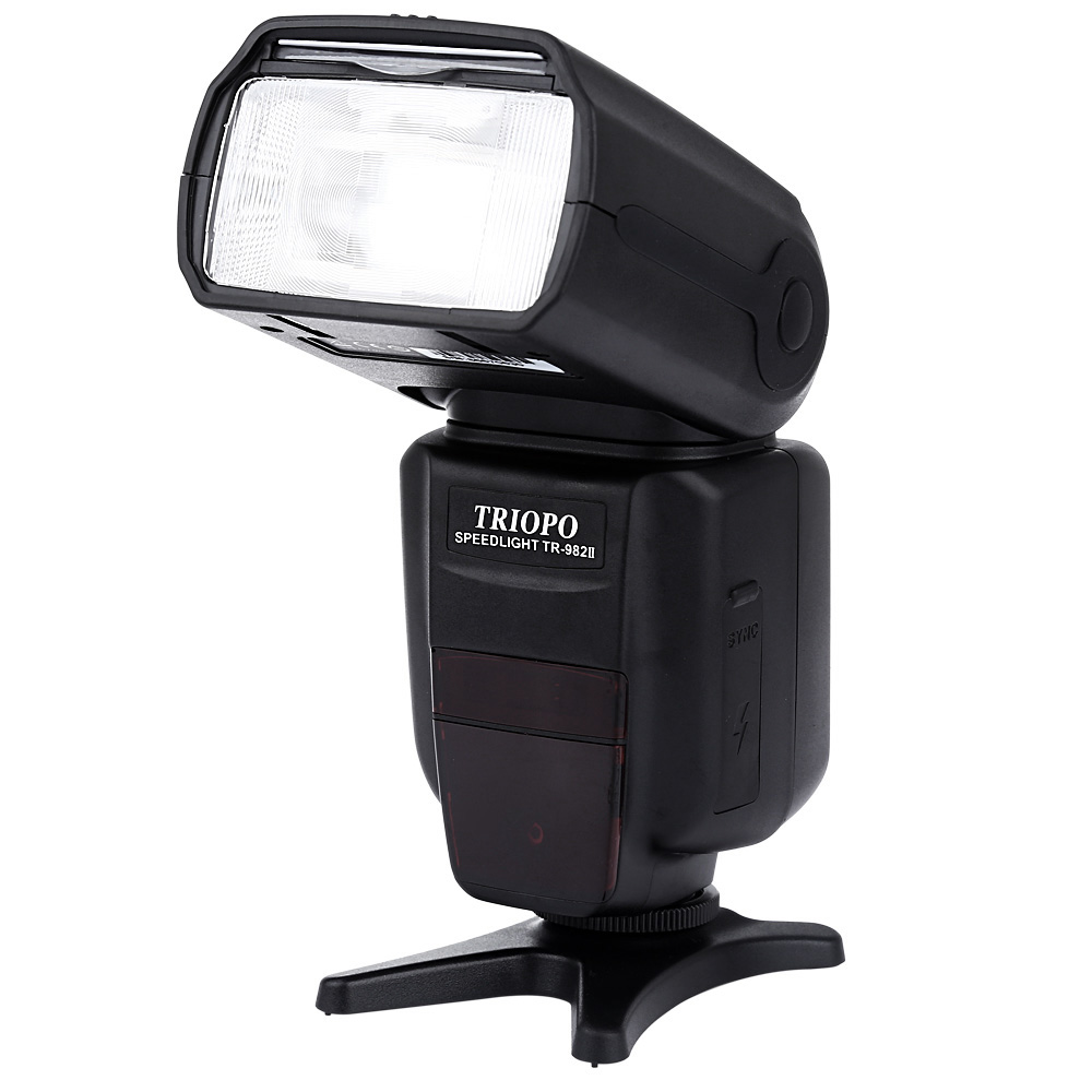 Здесь продается  TRIOPO TR - 982IIN 1/8000 HSS Multi LCD Wireless Master Slave Flash Speedlite With LCD Screen for Nikon  Бытовая электроника