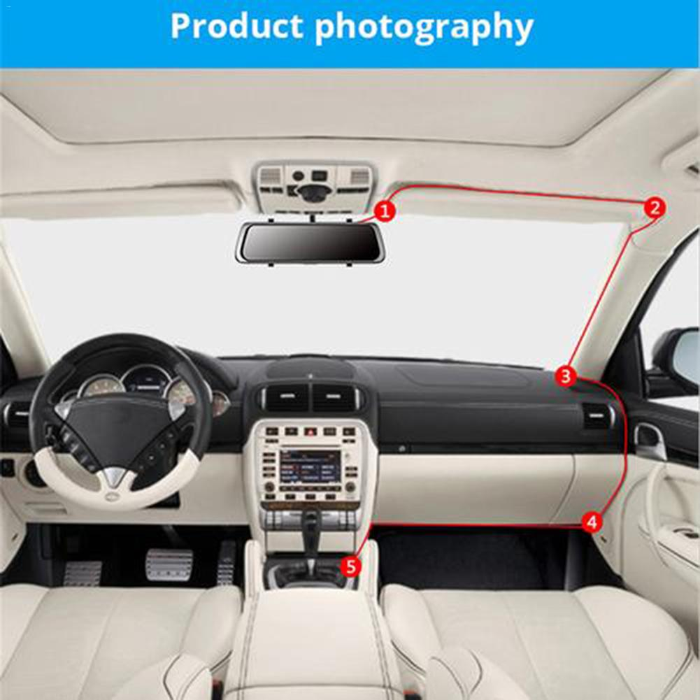 10 quot 12MP Car Rearview Mirror Camera HD 1080P Touch Screen with Rear View Mic Speaker TF Support 64G Night Vision Car Camera DVR in DVR Dash Camera from Automobiles amp Motorcycles