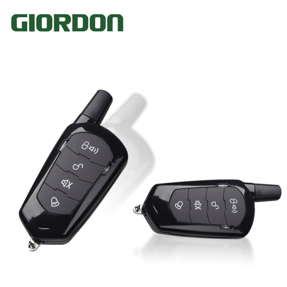 Mobile phone control PKE key one key start keyless access system with vibration alarm function MP900 quad band gsm one click alarm system with sos key phone