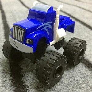 Image 4 - Juego de 6 unidades de camiones y camionetas milagrosos rusos para niños, juguetes Blazed Machines, juguetes para niños, regalos de cumpleaños