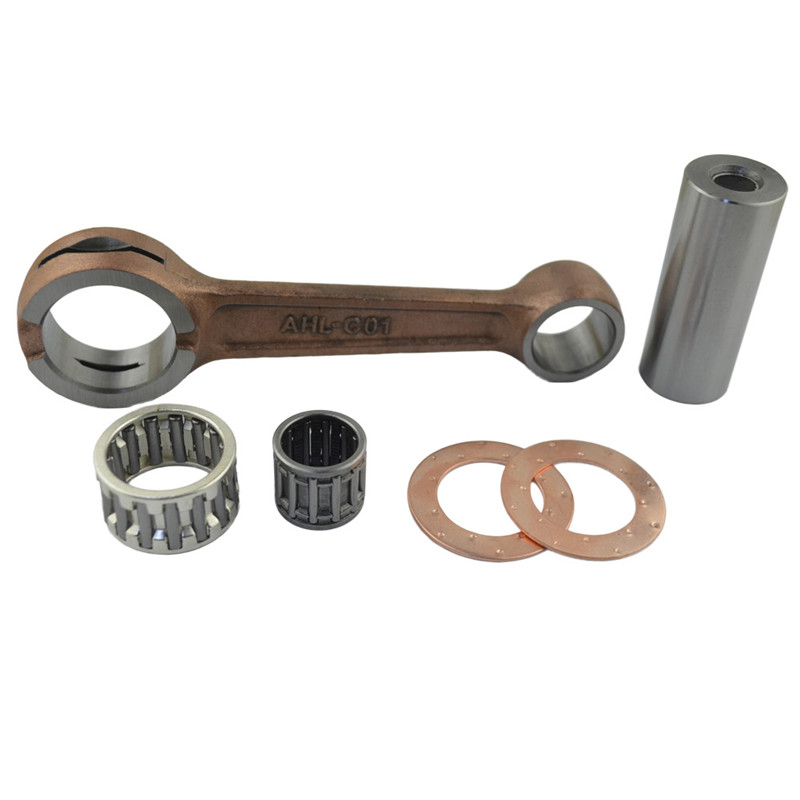Motorcycle Engine Parts Connecting Rod CRANK ROD Conrod Kit for HONDA CR125 CR 125 1988-2005 ahl motorcycle engine parts connecting rod bearing kit for honda crf250 crf 250 2004 2005 piston connecting rod
