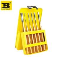 Free Shipping BOSI 6PCS Pin Punch Set