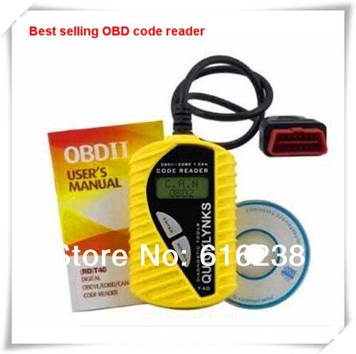 Авто OBD2 OBD II EOBD Сканер Code Reader T40 Диагностический Ремонт Инструменты Бесплатная Доставка DDS140