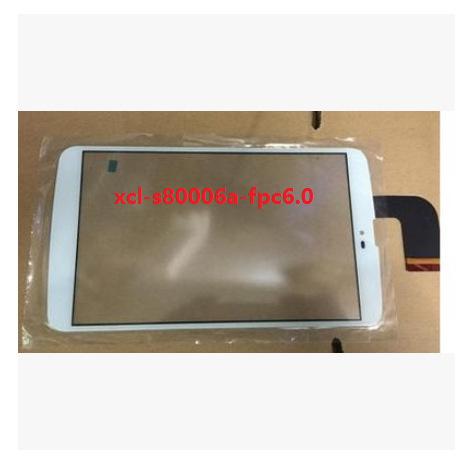 Novo 8 polegada tablet tela de toque capacitivo xcl-s80006a-fpc6.0 branco frete grátis