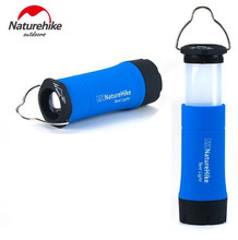 NatureHike Multifunction Outdoor Tent Light LED Camping Flashlight lamps Led electric torch Lights