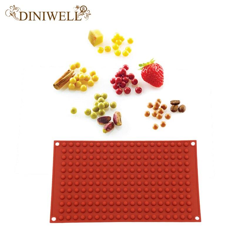 DINIWELL Silicone Ice Mold Blocks Round Shaped Cream Tubs Tray Cube Ice Cream Tools Silicone Cake Mold Fondant Baking Tools