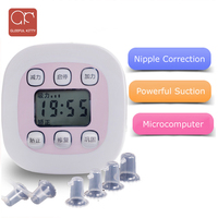 2018 LCD display Microcomputer Electric nipple correction Correction of inverted nipple for pregnant/girl Christmas Breast pump