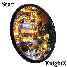 KnightX Star Line Filter Camera Lens Filter For canon 1300d 500d accessories eos sony nikon 49mm 52mm 55mm 58mm 62mm 67mm 72mm knightx uv mcuv 49mm 52mm 55mm 58mm 62mm 67mm 77mm camera lens filter for canon eos sony nikon d70 accessories photography
