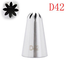 VOGVIGO #D42 Big Size Icing piping Nozzles Decorating Tip Cake Baking Pastry kitchen Bakeware Tools decorating tools