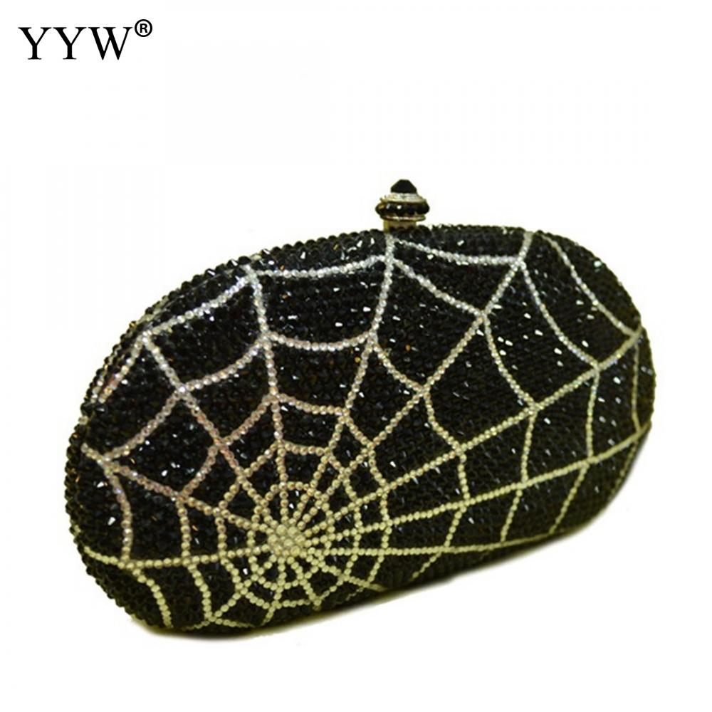 Women Korean Crystal Clutch Evening Bag Bridal Diamond Bag Vintage Wedding Party Handbags And Purses Rhinestone Black ClutchesWomen Korean Crystal Clutch Evening Bag Bridal Diamond Bag Vintage Wedding Party Handbags And Purses Rhinestone Black Clutches