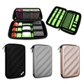 Cable pouch organizer bag for USB Flash Drive Cable Memory Card HDD Case Travel Storage Bags