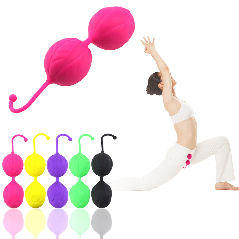 4 Color Safe Silicone Kegel <font><b>Ball</b></font> Tighten Exercise Vaginal <font><b>Chinese</b></font> <font><b>Balls</b></font> G-spot Vibrator <font><b>Sex</b></font> Toys For Women Adult Erotic <font><b>Sex</b></font> Shop image
