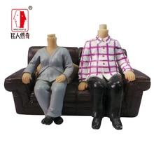 Wedding gift custom wedding cake topper resin body / creative gifts / clay dolls / custom / clay doll body ZY007