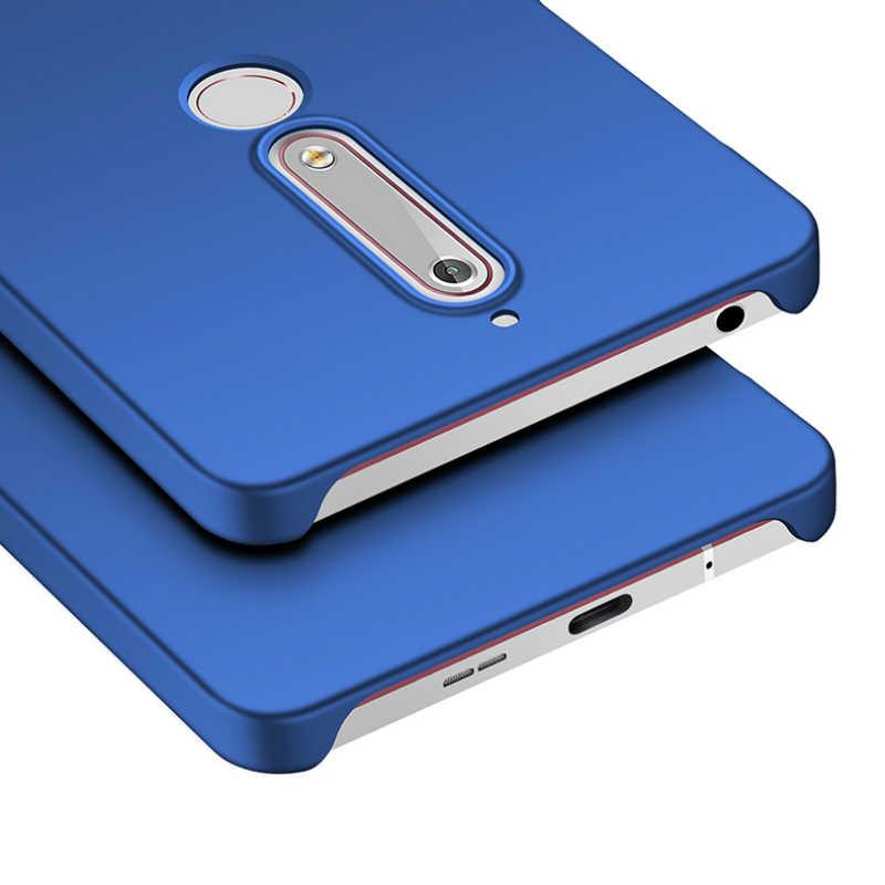 מט Ultra דק מקרה טלפון עבור Nokia 9 8 7 6 5 4.2 3 3.2 2.1 1 יוקרה קשיח מחשב כיסוי עבור Nokia X7.1 7.1 6.1 5.1 בתוספת X6 X5 מקרה