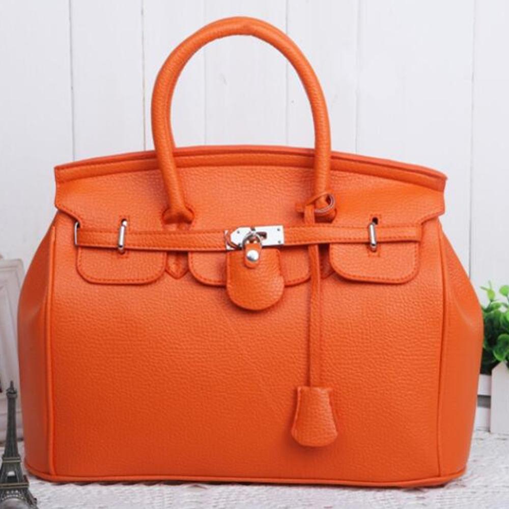 Leather Handbags Big Women Bag High Quality Casual Female Bags Fashion Top Handbag Trunk Tote Shoulder Bag Ladies Large Bolsos
