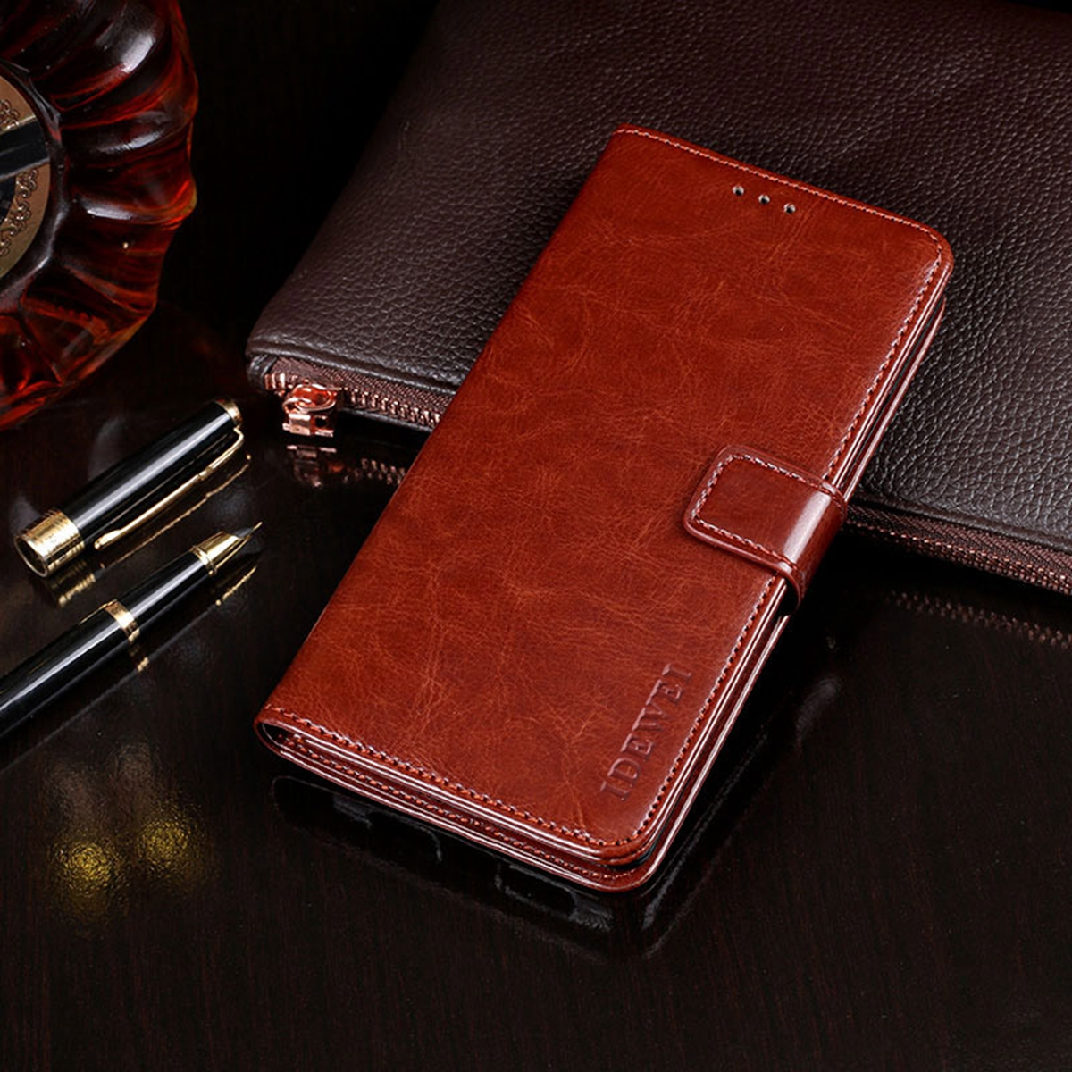 for font b OnePlus b font font b 7 b font PU Leather Case Flip Case