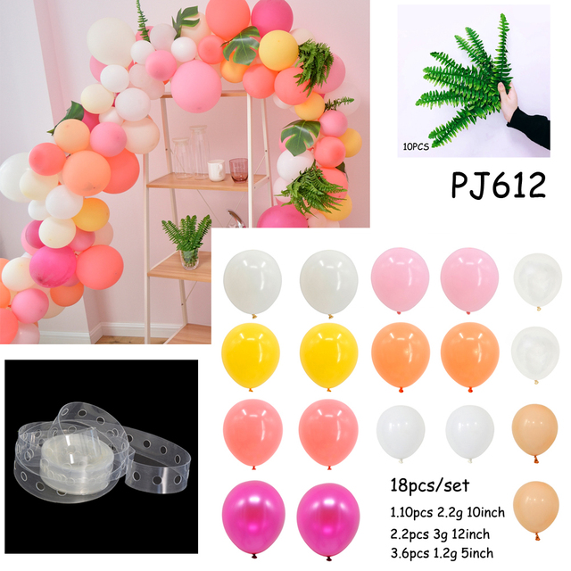 Balloons Birthday Decoration Adult Goods Tropical Party New Year Accessories Christmas Decorations For Home Globos In DIY From