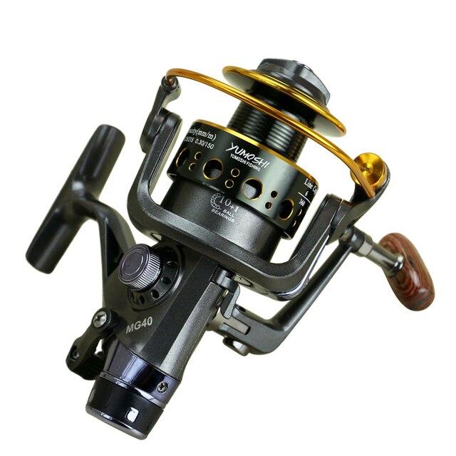 Moulinet de pêche Combo à Double frein, pour matériel de pêche à la carpe, avec frein avant et arrière, 2020, nouveauté Feeder de pêche