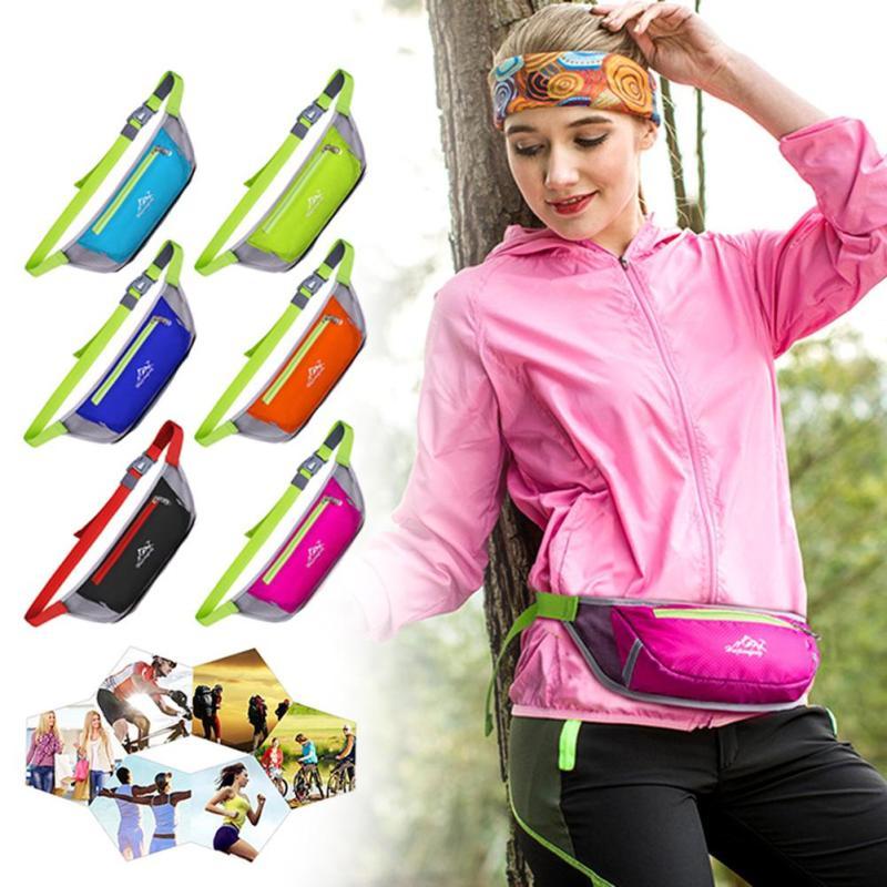 Повседневное Водонепроницаемый сумка груди для Для мужчин Для женщин нейлон карманные деньги Функция Поясные сумки Профессиональные пояс …