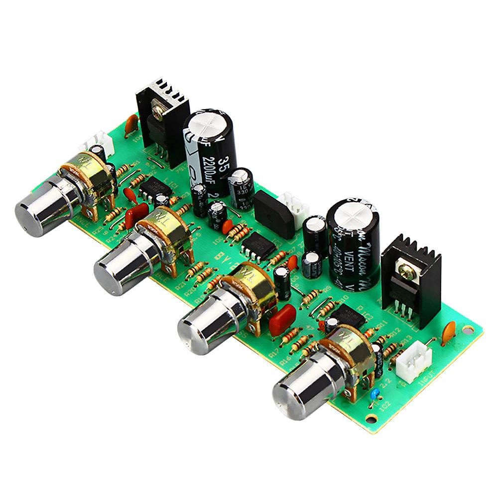 Mixer Board Audio Front Panel EQ Equalizer Board Amplifier Preamplifier Board