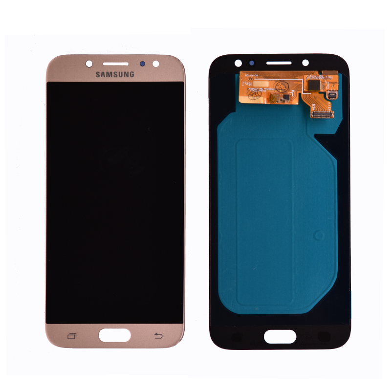 Image 2 - Super Amoled For Samsung Galaxy J7 Pro 2017 J730 J730F LCD Display With Touch Screen Digitizer Assembly Brightness Adjustment-in Mobile Phone LCD Screens from Cellphones & Telecommunications