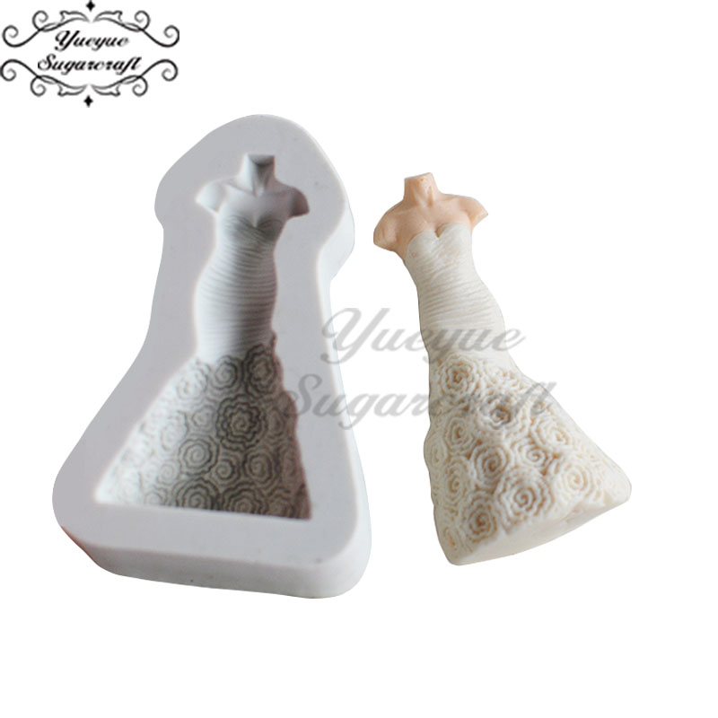 Yueyue Sugarcraft 1 шт бисерная силиконовая форма помадка форма для украшения торта инструменты форма для шоколадной мастики