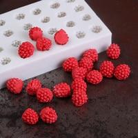 Raspberry Silicone Mold Fondant Mould Cake Decorating Tools Chocolate Gumpaste Mold Sugarcraft Kitchen Accessories
