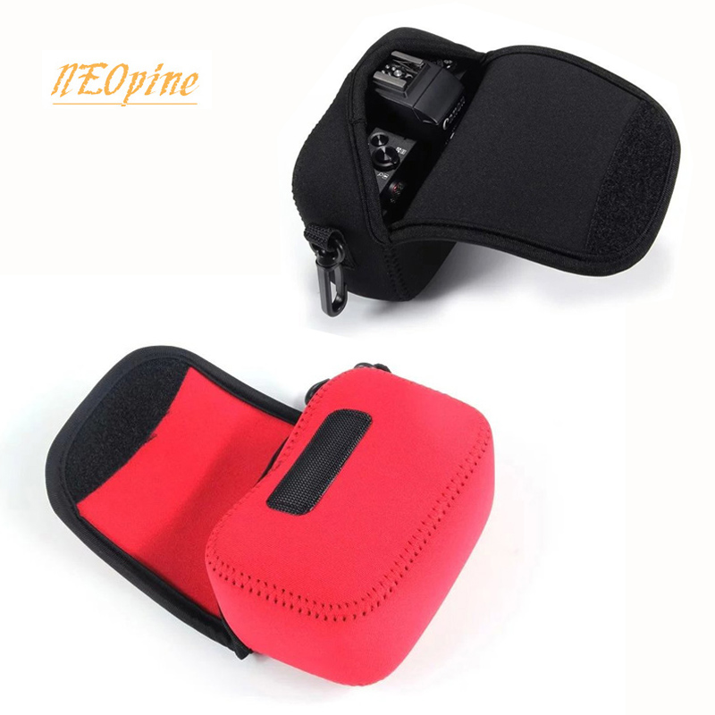 Neoprene camera case for Canon powershot G5X G12 G11 G15 G16 G9 G10 SX130 SX150 SX160 SX170IS camera bag pouch protective cover image