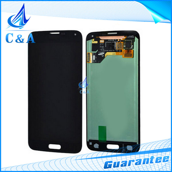 5 pcs DHL/EMS post tested replacement parts 5.1 inch screen for Samsung S5 i9600 G900 G900A lcd display with touch digitizer