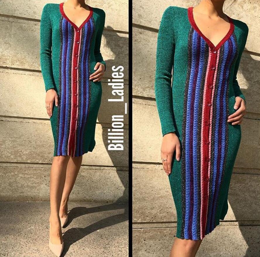 Grande taille coton Polyester bref droit complet aucune nouveauté offre spéciale Robe Robe 2016 femmes Robe rayé couleur