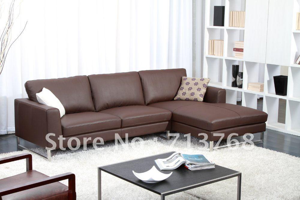 Moderne hoek lounge gratis verzending europese moderne sofa