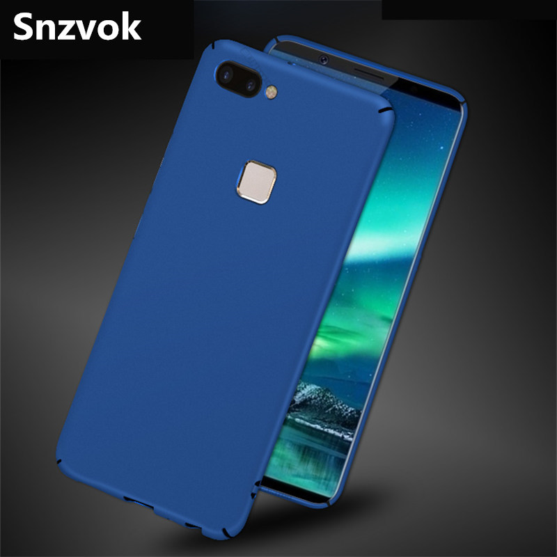 Snzvok 360 Protection Ultra-Thin PC Back Case for VIVO X play 5 6 High Quality Luxury Case for VIVO X6 X7 X9 X9s X20 plus Cover