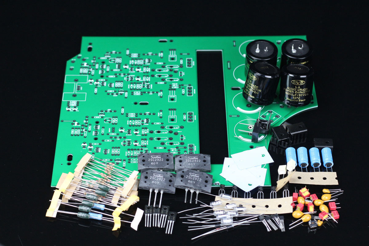 ZEROZONE DIY Black Box Clone Naim NAP200 Amplifier kit power amp kit 75W+75W L6-24 stereo nap200 power amplifier base on uk naim black box power amp finished board