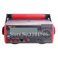 UNI-T UT804 True RMS Настольный Тип цифровой мультиметр DMM Гц Температура тестер Конденсатор 40000 отсчетов w/регистрации данных USB RS232
