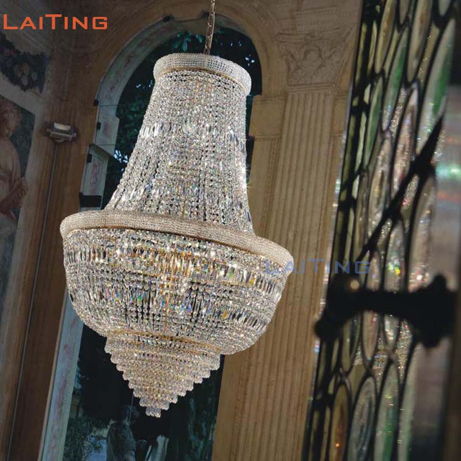 Lampadari Cinesi On Line traditional gold empire crystal chandelier with chinese