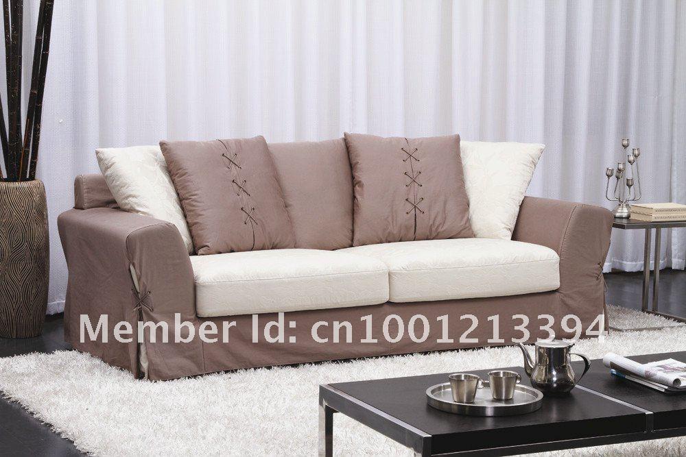 Muebles modernos sala sal n sof de tela 3 plazas sof for Sillones de living modernos precios