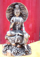 Ev ve Bahçe'ten Statü ve Heykelleri'de Wang 000135 Tibet Budizm Maitreya Bronz buda Heykeli
