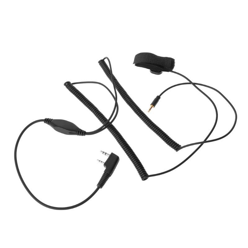 V3 V6 V8 V1098a V5s Bluetooth Helmet Headset Connect Cable For Kenwood Baofeng K